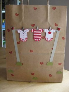 baby shower gift bag