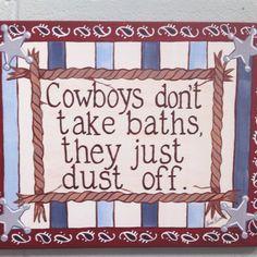 For little cowboys
