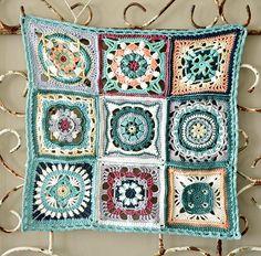 Moroccan crochet squares