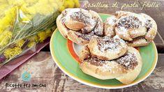 #Roselline di #pasta #frolla alla #nutella #RicetteTraAmiche