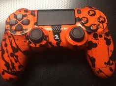 The first customized #PS4 controller done by Condemned Customs!