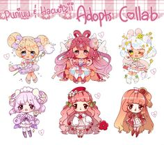 SET PRICE Collab with Puniuu CLOSED by Hacuubii on DeviantArt