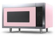 Plesser's now carries Big Chill. Visit our website for more information: www.plessers.com.  Retro Microwave  Brand: Big Chill, Model: MICRO16, Color: Pink Lemonade