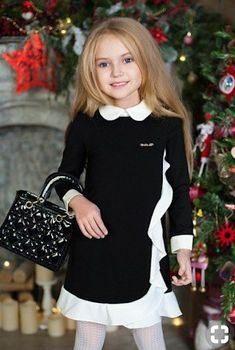 Olian Nursing Matching Outfit Medium - Now Outfits Dresses Kids Girl, Little Girl Dresses, Girl Outfits, Children Dress, Young Fashion, Kids Fashion, Dress Anak, Baby Kind, Little Girl Fashion