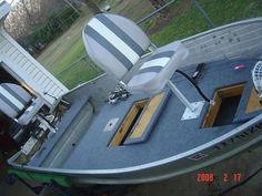 floor plans for a 16 ft. v hull jon boat - Google Search ...