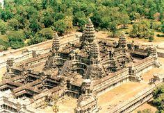 Angkor Wat antigo templo no Camboja