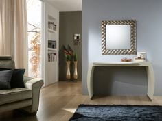 Zrcadlo Nebula BROWN 83x83 Mirrors, Oversized Mirror, Entryway Tables, Brown, Furniture, Home Decor, Entryway, Decoration Home, Room Decor