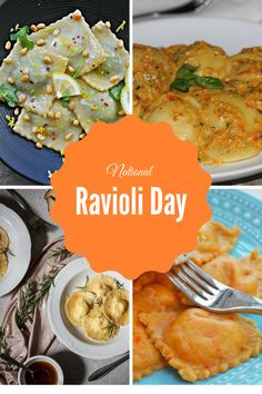 This great Ravioli Day Roundup celebrates some lovely ravioli recipes that are perfect for every day. This includes vegan ravioli and dessert ravioli.