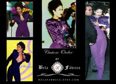 Custom, Miniature Replica, Celebrity Dress, Selena Quintanilla, Purple Outfit, Barbie, 1/6 Scale, Keepsake, Memory, Awards, Selena Perez