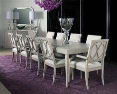 Cinema Leg Table With 4 Side Chairs By Rachael Ray Hom Furniture