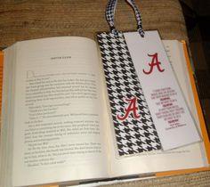 Alabama Crimson Tide Bookmarker by AlaBamaCrafter on Etsy, $4.00