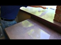 ▶ How to Seal and Polish your concrete countertops - Z Counterform - YouTube