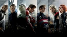 The Avengers Team Wide Wallpaper - Free Image Download - High Resolution Wallpaper