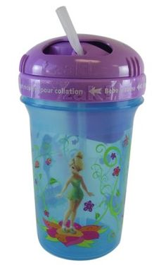 Amazon.com: Disney Tinkerbell and Fairies Snack and Drink Cup -Tinkerbell Tumbler: Toys & Games