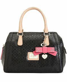Guess Handbag, Specks Frame Satchel - Satchels - Similar to mine. Guess Handbags, Cute Handbags, Satchel Handbags, Purses And Handbags, Guess Purses, Guess Bags, Cute Bags, Luxury Bags, My Bags