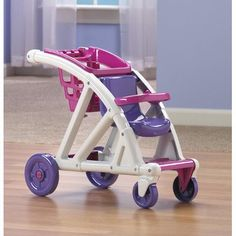Doll Strollers - American Plastic Toys Shop With Me Stroller *** Details can be found by clicking on the image.