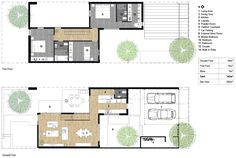 3 bedroom house floorplan  ~ Great pin! For Oahu architectural design visit http://ownerbuiltdesign.com