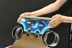 Boundless Touchscreens - The Sharp Free-Form Display Can Take on Any Shape or Form
