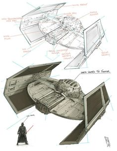 Tie Fighter Schematic on tie phantom, y-wing schematic, tie advanced,