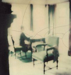 """""""donde, con solo dar vuelta a la llave, / todo / cuanto ama los cuartos vacíos /—mota de polvo, ángel, / reloj de arena o juego de sombras– / se disipa, o desaparece, / cuando aprietas el interruptor / y algo, / no necesariamente la luz, sino / una narración de la luz, / un simulacro, dorado, complejo, / recomienza, igual que una / historia: / mesa, espejo, / ramo de rosas, fotografía"""" ―John Burnside (Image: Tarkovski's polaroid)"""