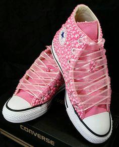 ea5495eb543c05 Wedding Converse- Bridal Sneakers- Bling   Pearls Custom Converse Sneakers-  Bridal Chuck Taylors- Wedding Sneakers- Converse hochzeit- Bride