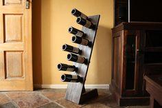 How To Make A Super Easy DIY Freestanding Wine Rack | Woodwork Junkie