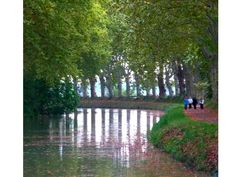 Photos along the Canal du Midi