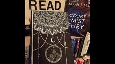 Ilivieforbooks defaced front cover of acomaf by Sarah J Maas
