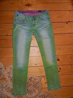 one green elephant Kosai Jeans Hose Gr. 42 Hippie Goa Ethno Boho Top Zustand