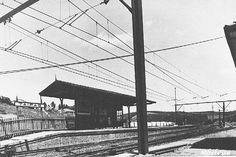 Início do Século XX - Atual Estação Jaraguá, na época com seu nome inicial: Estação Taipas.