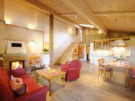 Wohnraum Ferienwohnung Edelweiß Daxlberger Hof