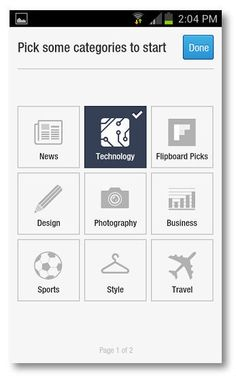 Getting started with Flipboard for Android