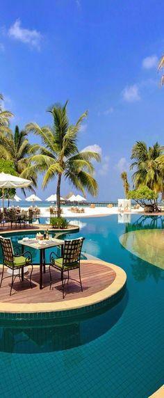 Resorts In Maldives - Kanuhara Resort - Maldives ~ Photos Hub Beautiful Places In The World, Places Around The World, Wonderful Places, Beautiful Beaches, The Places Youll Go, Places To Visit, Around The Worlds, Maldives Voyage, Maldives Resort