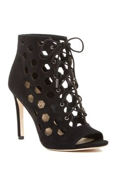 Image of Via Spiga Elouise Lace-Up Bootie $110