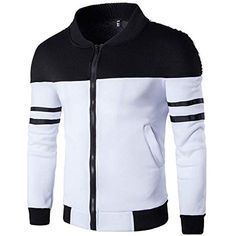 PASATO New Mens Autumn Winter Casual Long Sleeve Thicken Baseball Uniform Flying Jacket Clearance Sale!