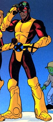 SYNCH was a mutant with Omega-level potential to rival the Phoenix itself! Synch with other mutants; able to sync up with other mutants and use Marvel Comic Universe, Comics Universe, Marvel Comics, Comic Book Characters, Comic Books, Disney Characters, Fictional Characters, Fantasy Sword, X Force