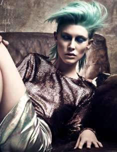 """Collection Finalist British Hairdressing Awards 2016 in the category """"Hairdresser of the year - Center"""" Hair Nicola Smyth Humphriss Makeup Naomi Hawkins Style Niall Littlejohn & Revolve Ladieswear Photo Richard Miles"""
