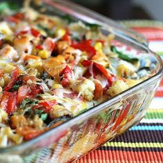 Must Try recipes: Stacked Roasted Vegetable Enchiladas