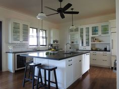 Small Eco-Friendly Homes on kauai | The countertops are honed granite. And that's the laundry room you can ...
