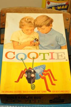 Cootie game!  OMG I loved this game.