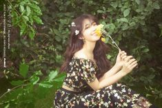 Apink's Jung Eun Ji Enjoys The Sights And Scents Of Spring In Beautiful Teaser Photos For Solo Comeback | Soompi