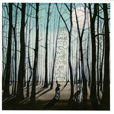 Beautiful signed, and mounted limited edition print by Sam Cannon. Using quote from Albert Einstein 'Look Deep Into Nature And You Will Understand Everything Be Gouache, Sam Cannon, Buy Prints Online, Gothic Themes, Tree Artwork, Bunny Art, Heart Art, Word Art, Painting Inspiration