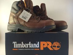 """Timberland Pro Titan 6"""" Titan Safety Toe 16063-Size 8.5 M/M-New With Box #Timberland #WorkSafety"""