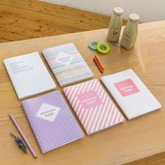 Monthly planners. So so cute & girly!