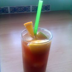 Mrs. Swindell's Famous Fruited Iced Tea recipe snapshot