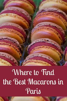 Where to Find the Best Macaron in Paris by EverInTransit, via Flickr
