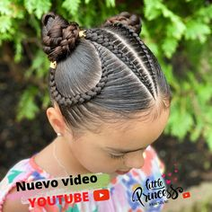 Baby Hair Cut Style, Cut My Hair, Hair Cuts, Dance Hairstyles, Braided Hairstyles, Ballroom Dance Hair, Cool Hair Designs, Hair Express, Girl Hair Dos