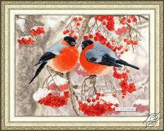 Bullfinches - Cross Stitch Kits by ZOLOTOE RUNO - RS-018