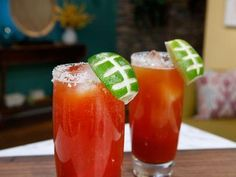 """Michelada (Big Game Day) - Olivia Culpo, Social Media Sensation and Actress, Guest on the """"The Kitchen"""" on the Food Network."""