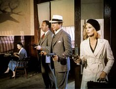 This Bonnie and Clyde with Warren Beatty and Faye Dunaway.....